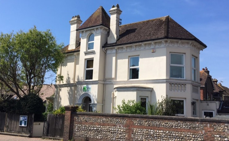 External view of the Corner House in Southwick, West Sussex Mind's building